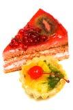 Celebratory pie Stock Image