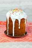 Christ has arisen! Easter - sweet cake Royalty Free Stock Photo