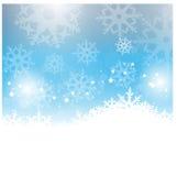 celebratory snowflakes för juldesignillustration Fotografering för Bildbyråer