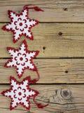 celebratory snowflakes för juldesignillustration Royaltyfria Foton