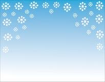 celebratory snowflakes för juldesignillustration Royaltyfri Illustrationer