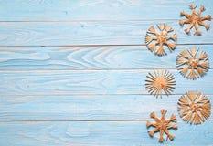 celebratory snowflakes för juldesignillustration Royaltyfria Bilder