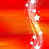 Celebratory stars Royalty Free Stock Photo