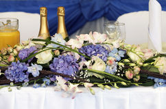 Celebratory table Royalty Free Stock Images