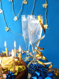 Celebratory Table Royalty Free Stock Photography