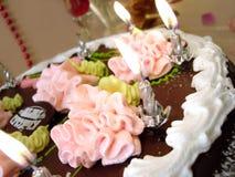 Celebratory table Stock Image