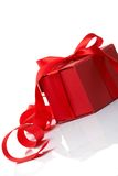 Celebratory tapes, gift Stock Image