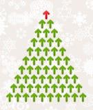Celebratory tree5 stock illustration