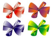celebratory vektor för bow Arkivfoton