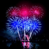 Magic firework Royalty Free Stock Photo