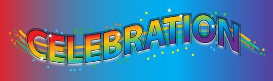 Celebrazione illustrazione vettoriale