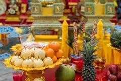 Celebrazione cinese del nuovo anno in Tailandia Immagine Stock