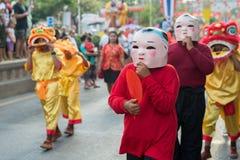 Celebrazione cinese del nuovo anno in Tailandia Immagine Stock Libera da Diritti