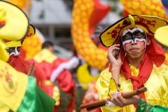 Celebrazione cinese del nuovo anno in Tailandia Fotografie Stock Libere da Diritti