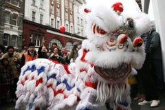 Celebrazione cinese dell'nuovo anno, 2012 Fotografia Stock