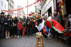 Celebrazione cinese di nuovo anno, 2012 Fotografia Stock