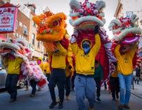 Celebrazione cinese di nuovo anno Fotografie Stock