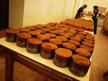 Celebrazione, cucinante i dolci pasqua molla del ` s christ fotografie stock libere da diritti