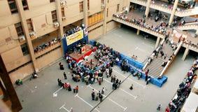 Celebrazione degli orfani in università a Cairo nell'egitto in Africa Fotografie Stock Libere da Diritti