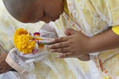 Celebrazione del debuttante buddista immagine stock libera da diritti