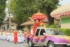 Celebrazione del debuttante buddista immagine stock