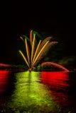 Celebrazione del fuoco d'artificio Fotografia Stock Libera da Diritti