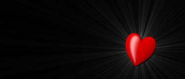 Celebrazione del giorno dell'amore Fotografia Stock