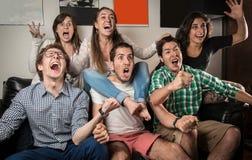Celebrazione del gruppo Immagine Stock