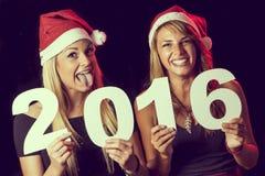 Celebrazione del nuovo anno Fotografia Stock