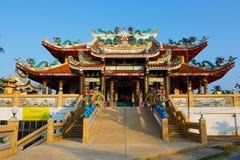 Celebrazione del nuovo anno cinese nel tempio Saphan Hin Fotografia Stock