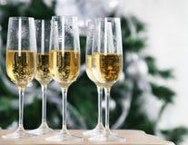 Celebrazione del nuovo anno o di Natale Immagine Stock