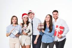 Celebrazione del nuovo anno o del Natale Fotografie Stock