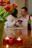 Celebrazione dell'amore Fotografie Stock
