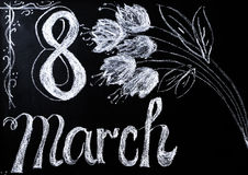 Celebrazione dell'8 marzo Immagine Stock
