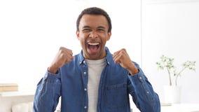 Celebrazione dell'uomo afroamericano riuscito, ritratto Fotografie Stock