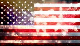 Celebrazione della festa dell'indipendenza negli Stati Uniti Immagini Stock Libere da Diritti