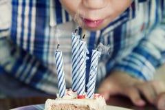 Celebrazione della festa di compleanno Fotografia Stock Libera da Diritti