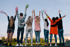 Celebrazione della festa di compleanno Società dei giovani Immagini Stock