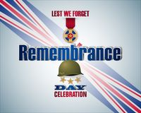 Celebrazione della giornata della memoria in Inghilterra illustrazione vettoriale