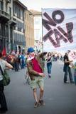 Celebrazione della liberazione tenuta a Milano il 25 aprile 2014 Fotografia Stock