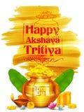 Celebrazione di Akshay Tritiya illustrazione vettoriale