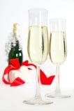 Celebrazione di Champagne Fotografie Stock