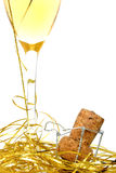 Celebrazione di Champagne Fotografia Stock Libera da Diritti