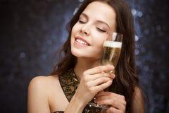 Celebrazione di Champagne. Fotografie Stock