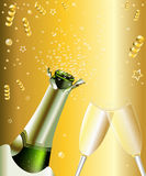 Celebrazione di Champagne Immagine Stock