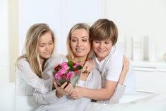 Celebrazione di dau della madre Fotografia Stock
