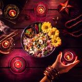 Celebrazione di Diwali fotografie stock libere da diritti
