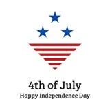 Celebrazione di festa dell'indipendenza Immagini Stock