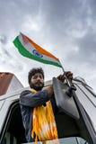 Celebrazione di festa dell'indipendenza - India fotografie stock libere da diritti