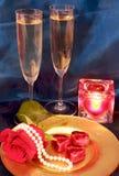 Celebrazione di giorno dei biglietti di S. Valentino Immagine Stock
